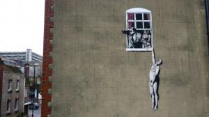 """Bristol es considerada la capital de arte """"bansky"""", donde se presume que nació en 1974."""