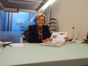 Sara Topelson fue la primera mujer presidenta de la Unión Internacional de Arquitectos, (UIA).
