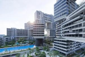 """El proyecto """"The Interlace"""", en Singapúr, espacio urbano que busca interconectar a los habitantes."""