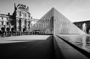 El Museo del Louvre es la plaza de arte más visitada del mundo.