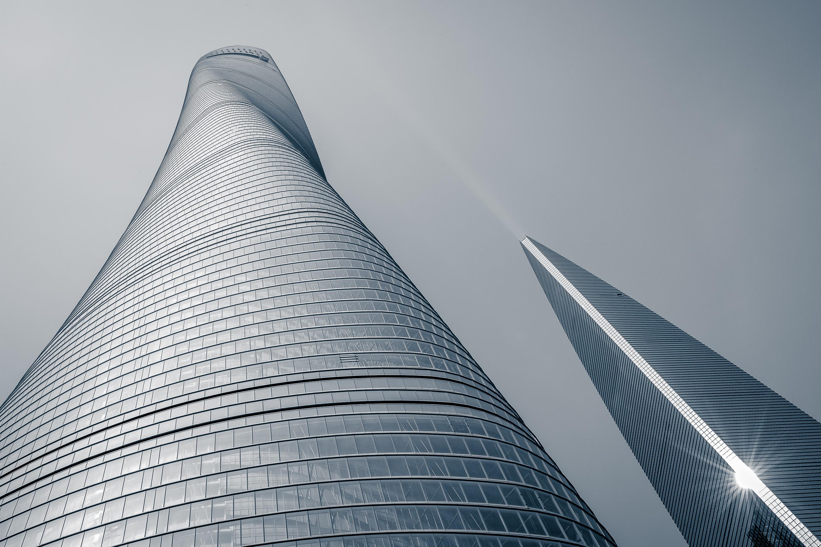 La construcción de la Shanghái Tower, foto a foto