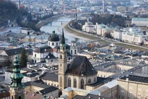 """Salzburgo fue otorgado en 2012 el premio """"Ciudad más inclusiva para visitar en vacaciones"""" del 2012 por Estados Unidos."""