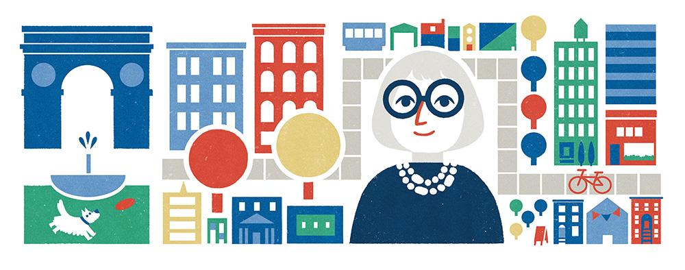 Google dedicó su doodle a ella en algunos formatos y países.
