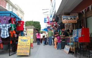Comerciantes del Centro Histórico. Foto: Expreso Press.