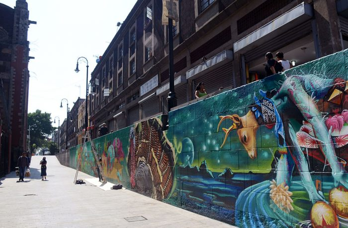 Arte urbano al rescate de espacios olvidados
