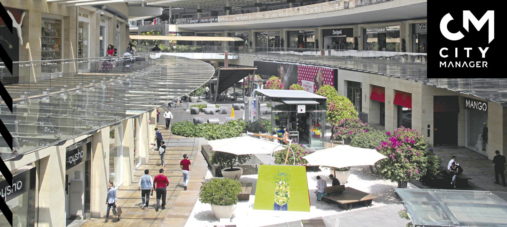 Dominan centros comerciales espacio público