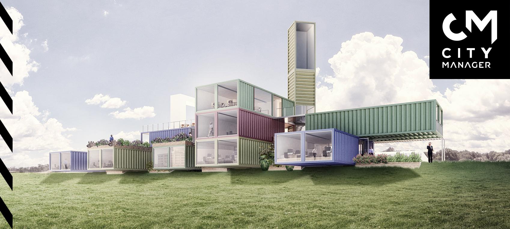 Construir con contenedores marítimos