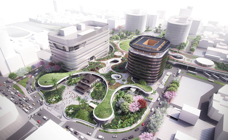 Presentan propuesta de diseño urbano para transporte en China