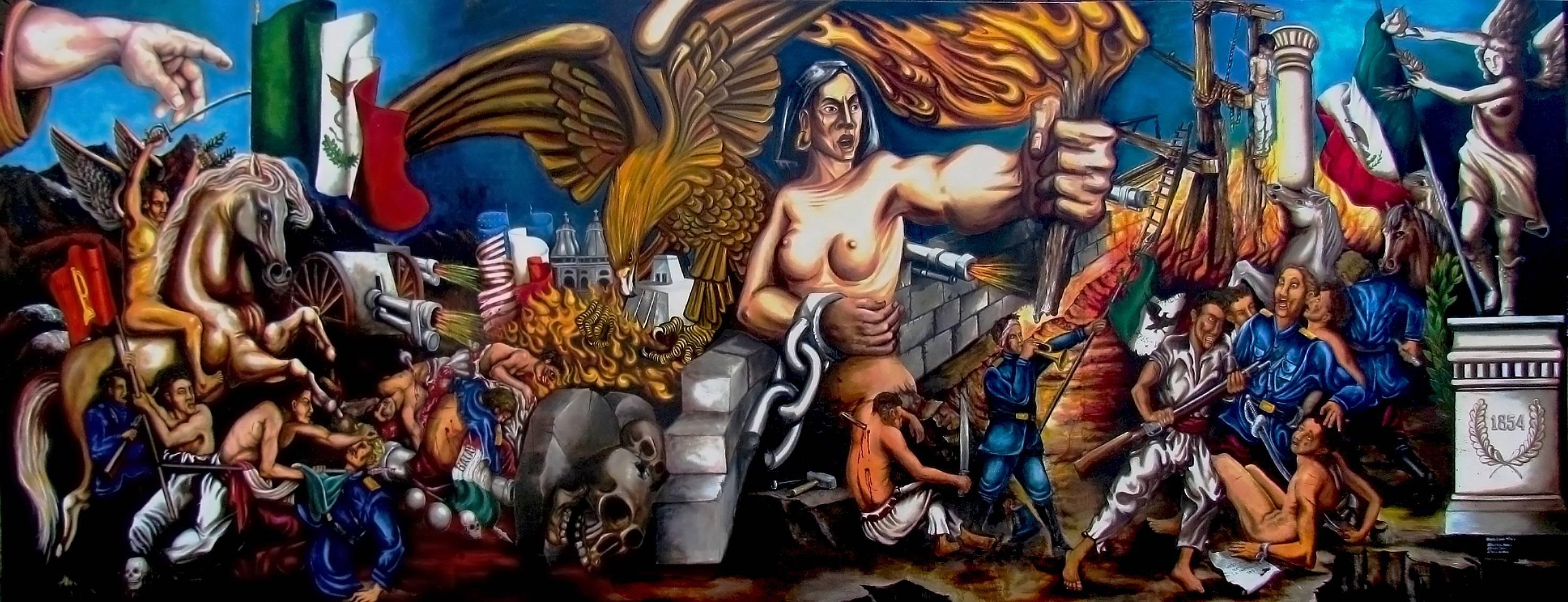 Anuncian el segundo Foro Internacional de Muralismo