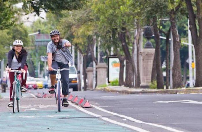 ciclista en la ciudad