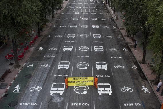 GRA019. MADRID, 22/09/2016.- Fotografía facilitada por Greenpeace | EFE|(SOLO USO EDITORIAL)