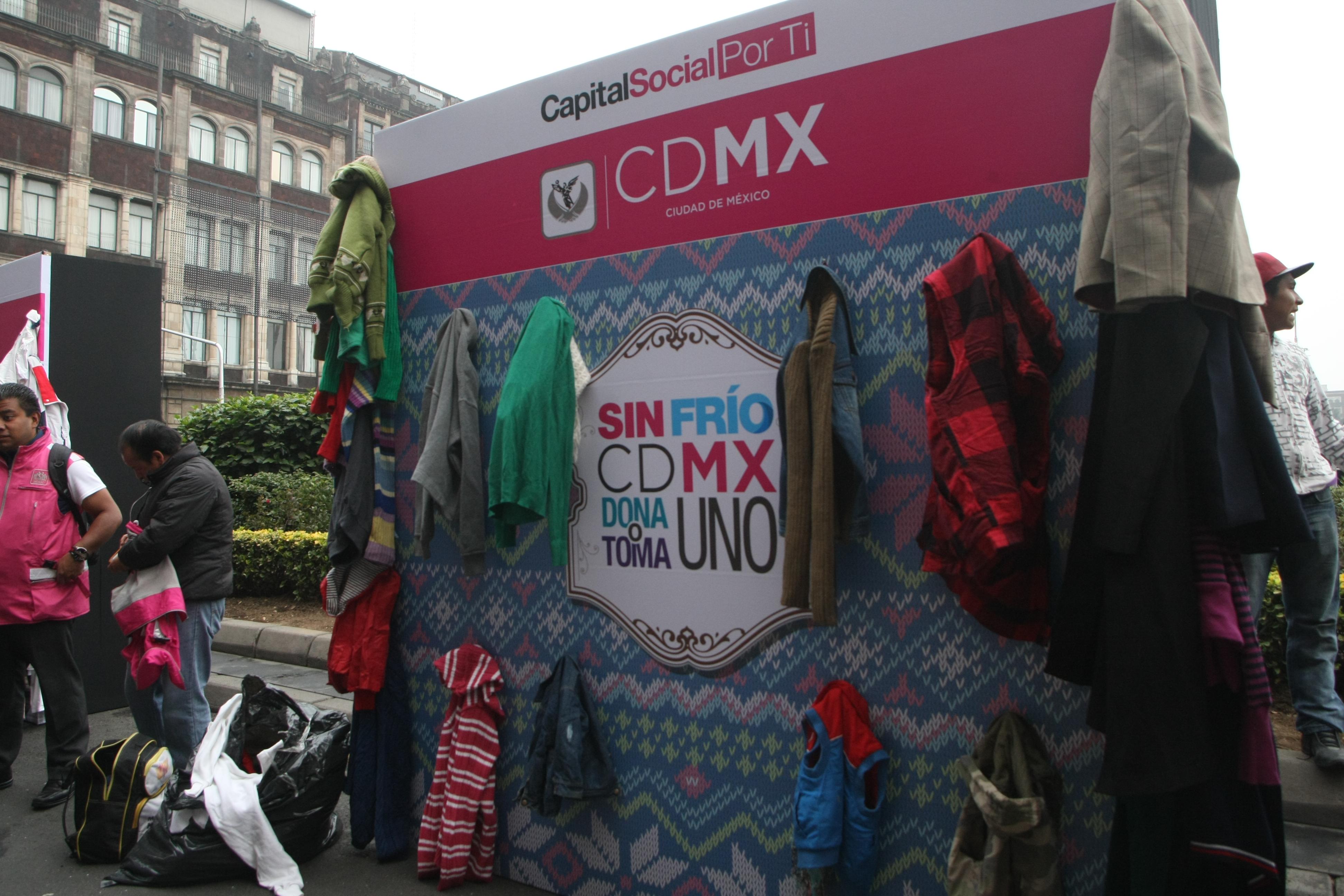 Espacios públicos de la CDMX se convierten en sitios de apoyo solidario