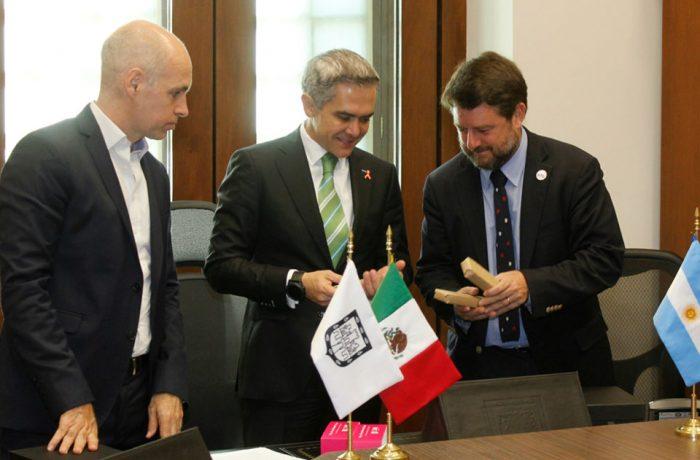 Tres ciudades lationamericanas se comprometen al desarrollo sustentable