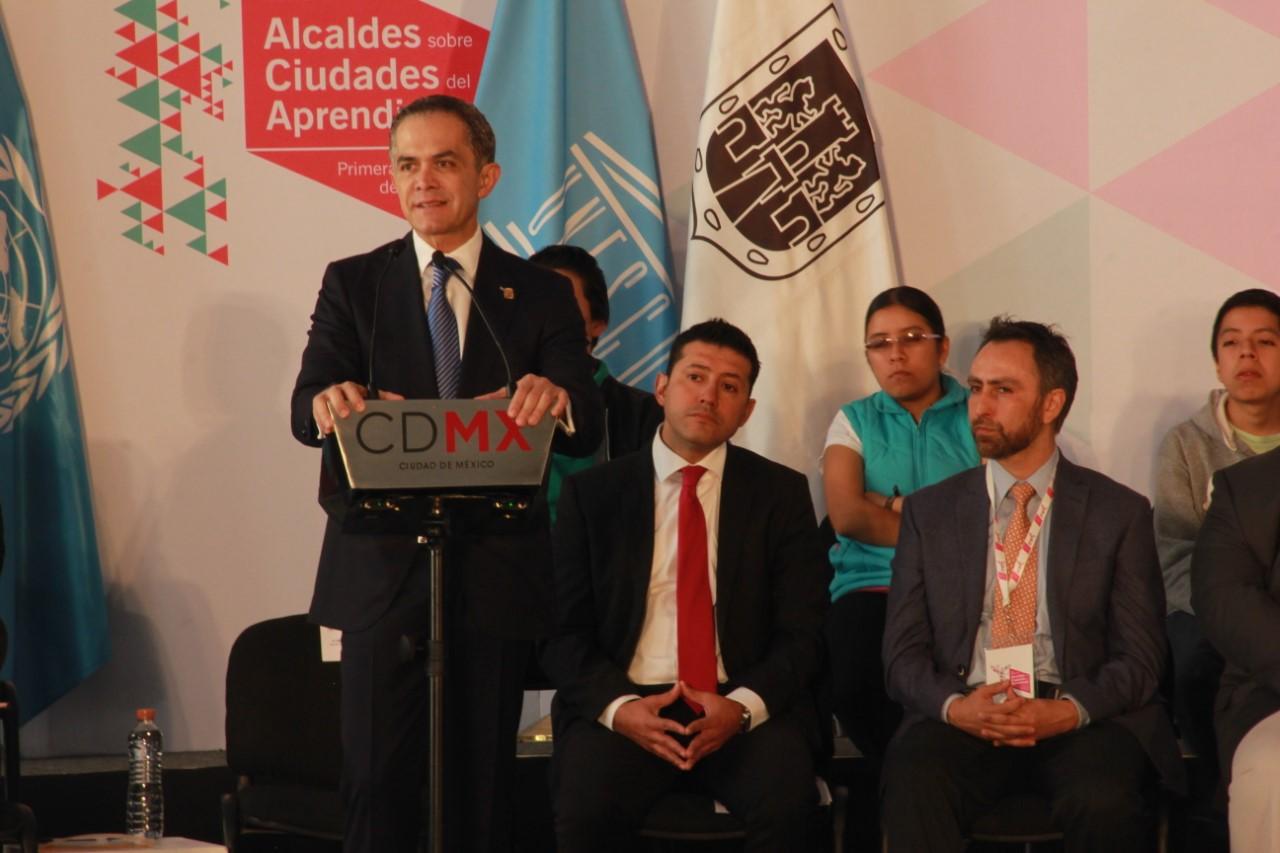 CDMX presentó la Plataforma de Coordinación de las Ciudades del Aprendizaje