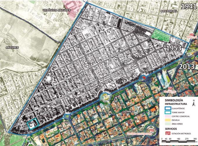 Paseo urbano más parque lineal