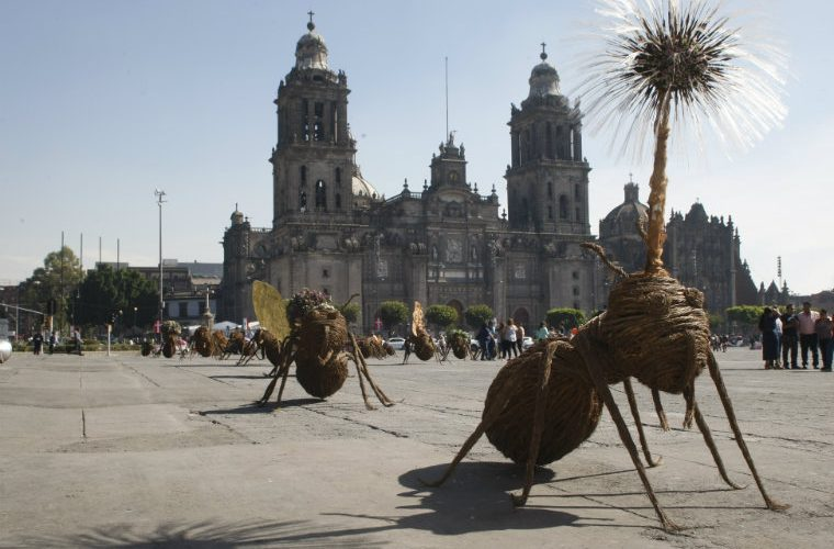 Exposición arte urbano invade espacios públicos CDMX