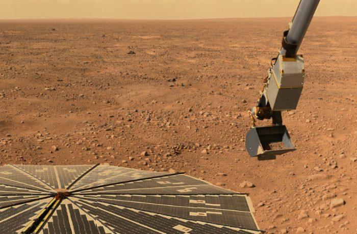 Podrían construir ciudades Marte.