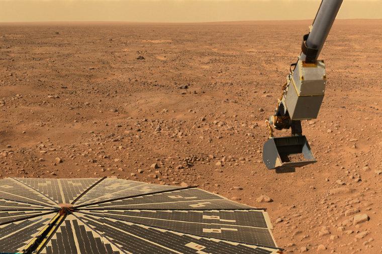 Podrían construir ciudades en Marte.