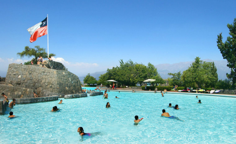 Parque Metropolitano Chile Santiago