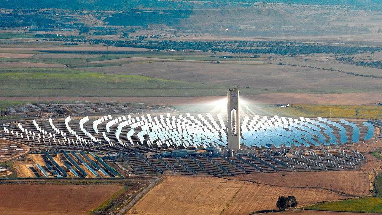 Torre energía renovable