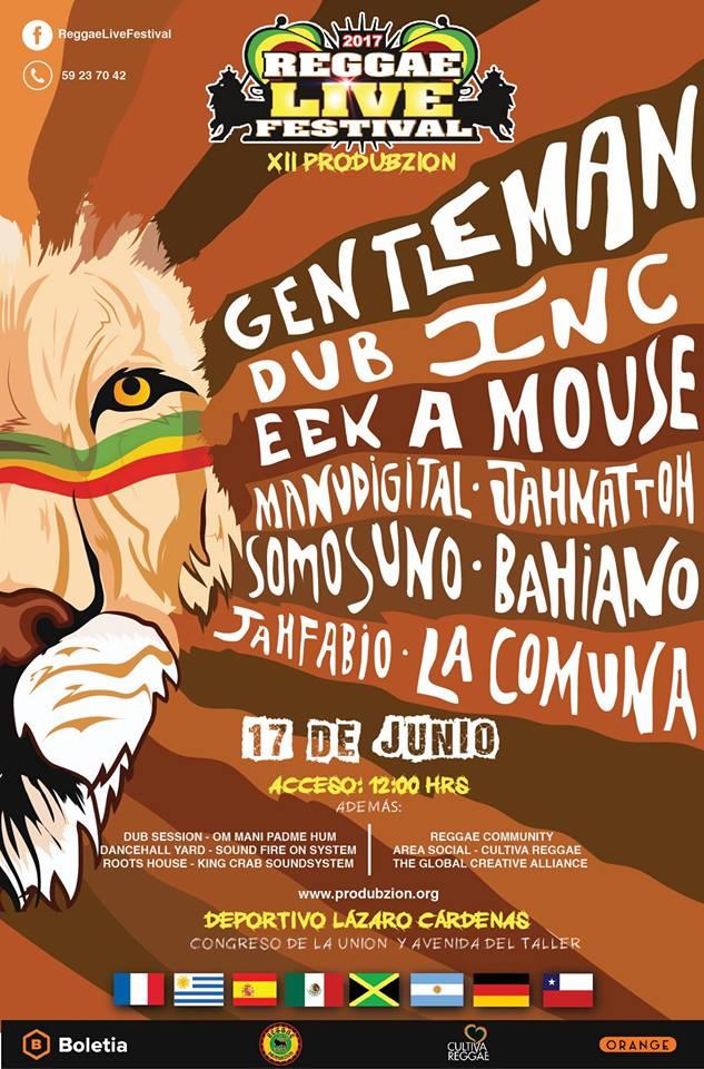 cartel reggael live festival