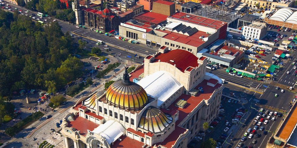 Palacio de Bellas Artes, Mexico DF