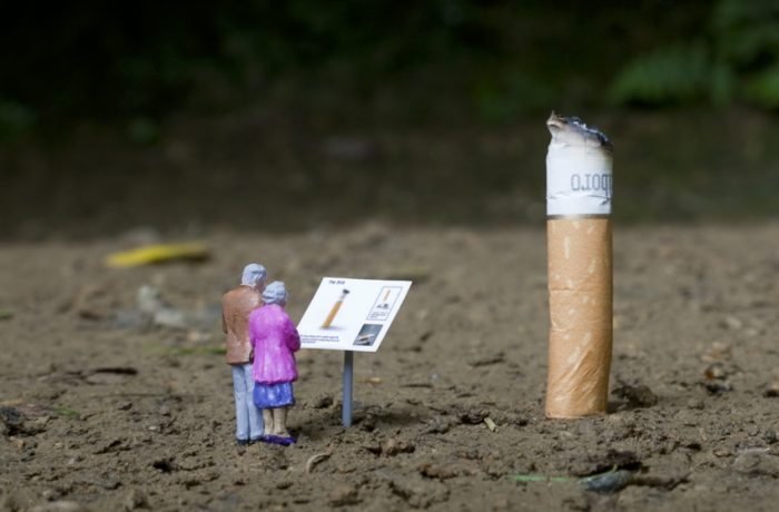 Conoce el mundo en miniatura de Slinkachu y 'The Little People Project'