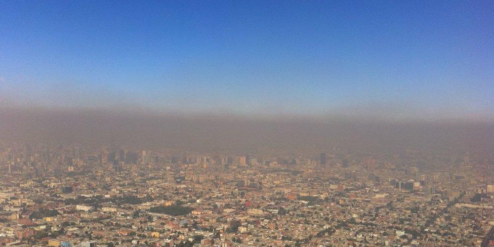 contaminacion en la ciudad de mexico