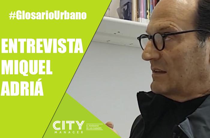 Formación de urbanistas. Entrevista con Miquel Adriá