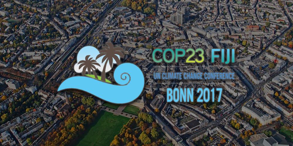 COP23: la nueva convención sobre cambio climático de la ONU