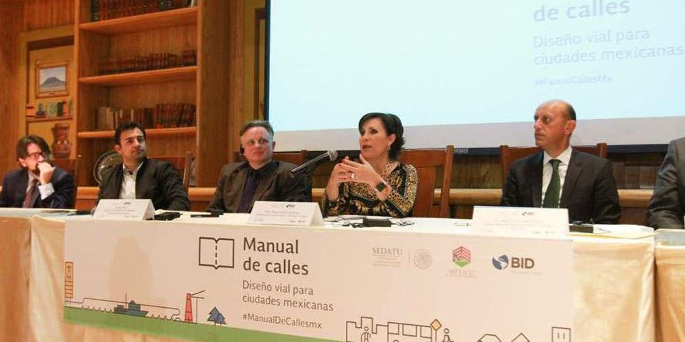 La SEDATU presenta el Manual de Calles en la CDMX