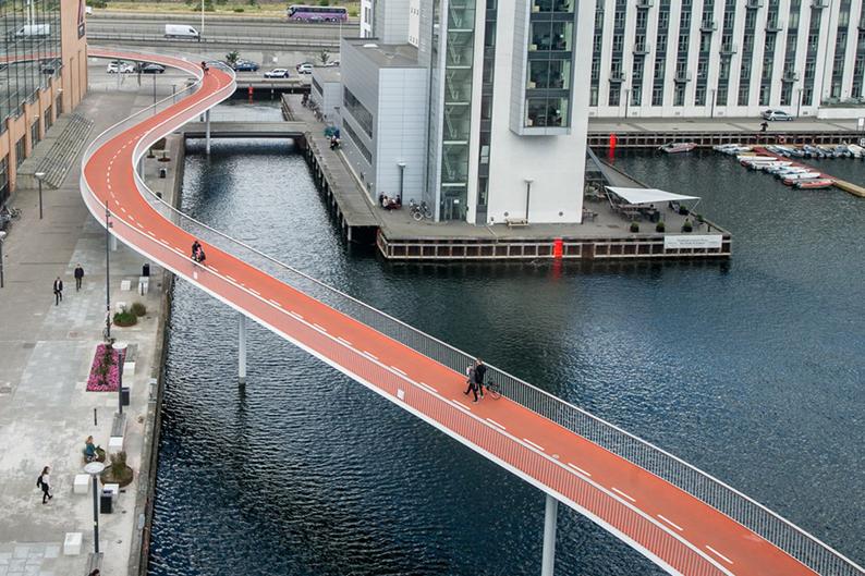 Son ciclistas prioridad en Copenhague