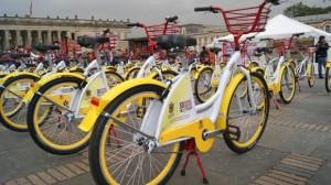 El servicio de bicicletas públicas en Bogotá.