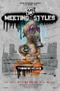 """Cartel """"Meeting of Styles"""" 2015"""