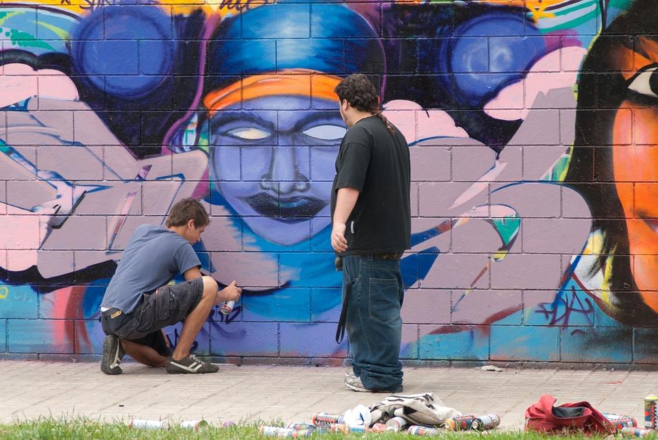 Arte urbano envuelve a Barcelona