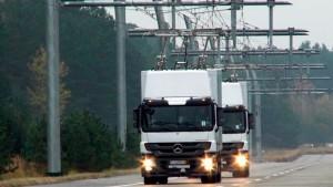 Así luce la carretera en Suecia