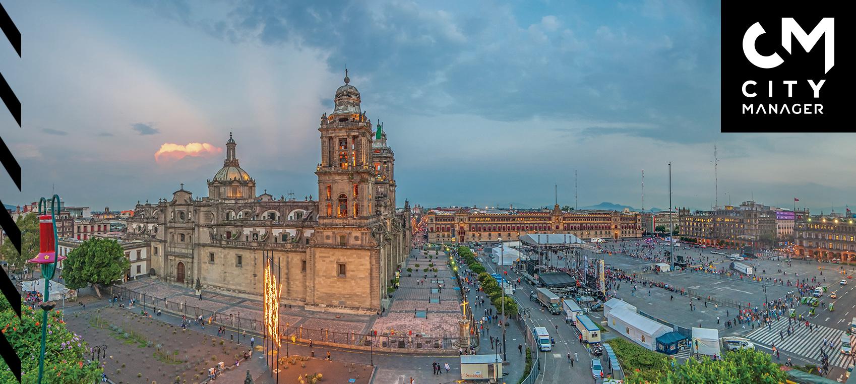 El Zócalo capitalino, crisol de historias