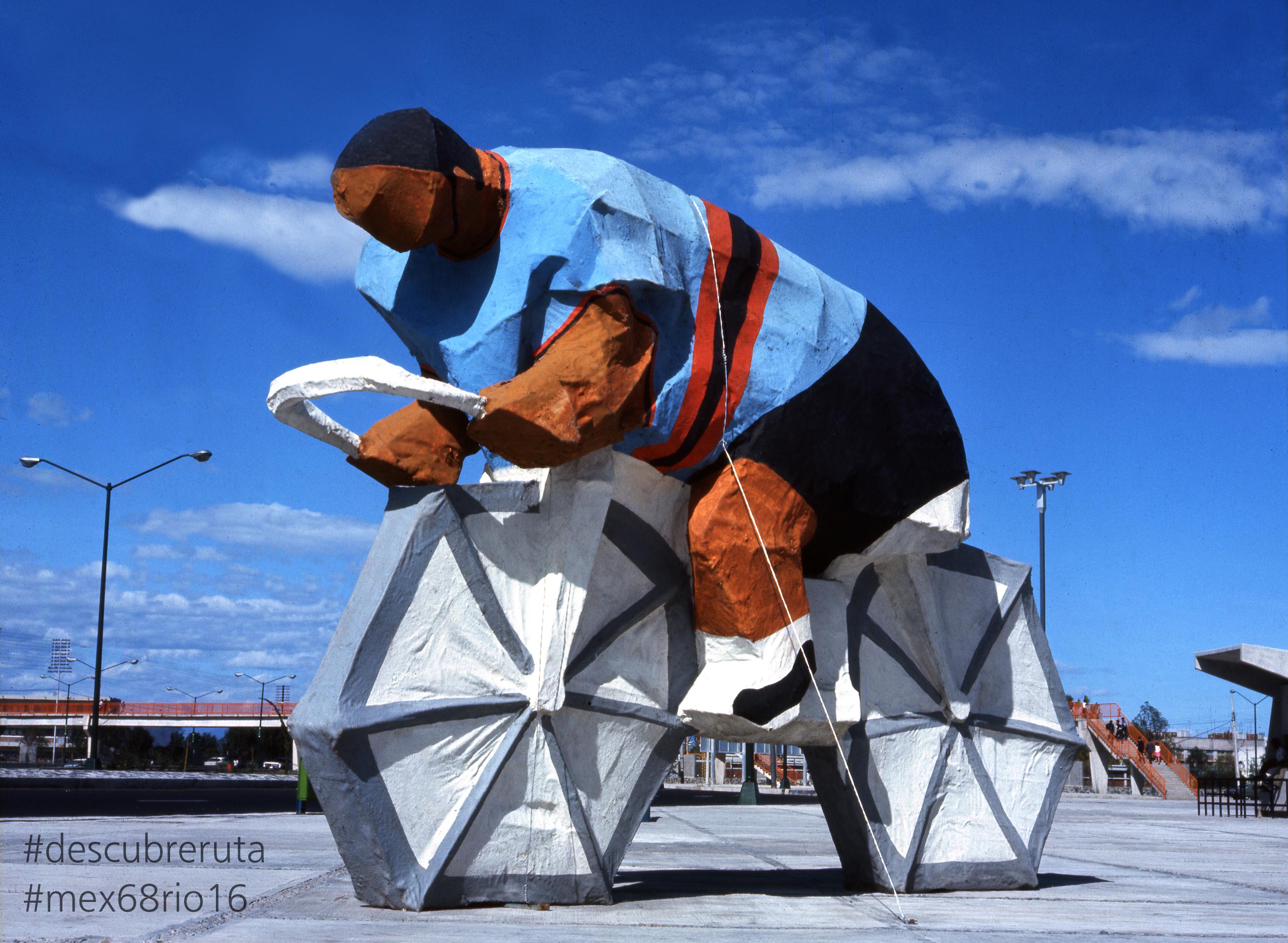 Reviven olimpiadas de Río 2016 el arte cultural de México 1968