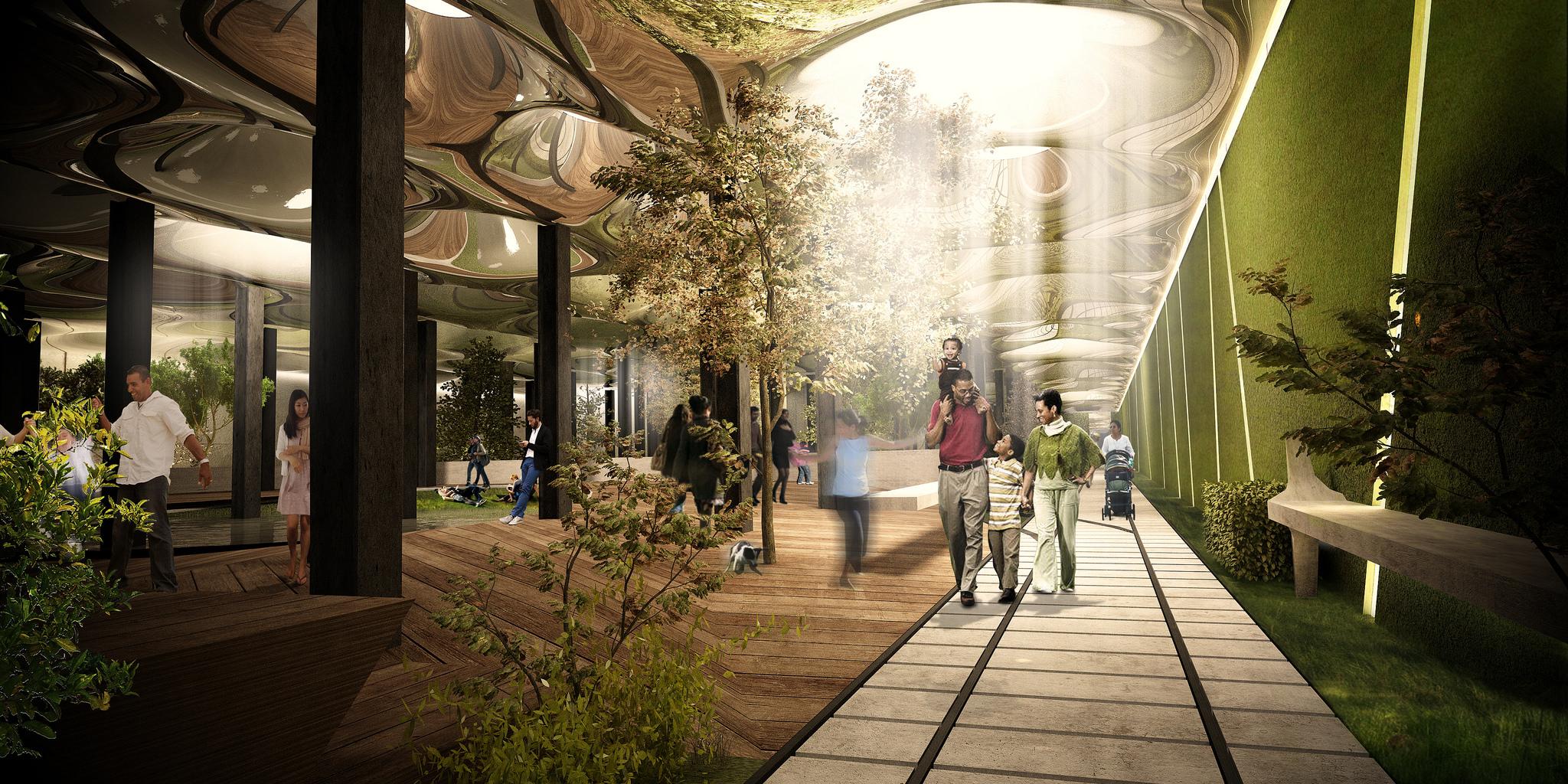 Presentan innovador proyecto urbano subterráneo para Nueva York