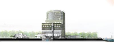 Maqueta del proyecto. Foto: Next City