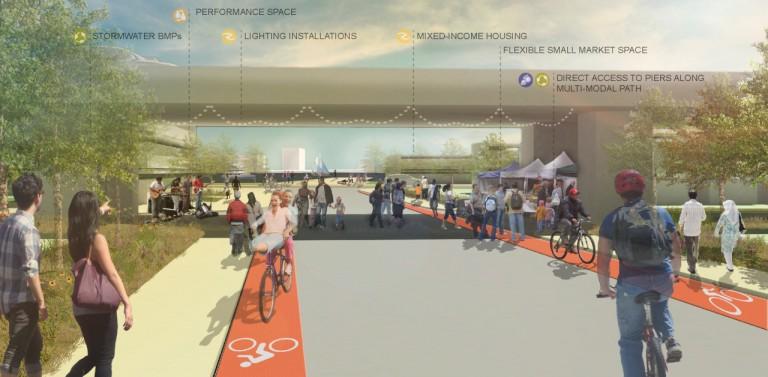 El proyecto sería un espacio público para los habitantes.