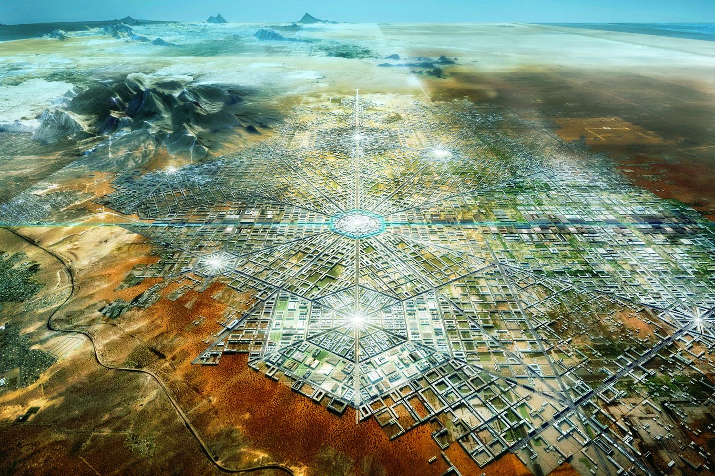 Presentan proyecto de ciudad utópica en la Bienal de Diseño en Londres