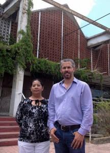 Mauricio Ibarra y Xochitl Marmolejo Garcia. (IMPLAN)