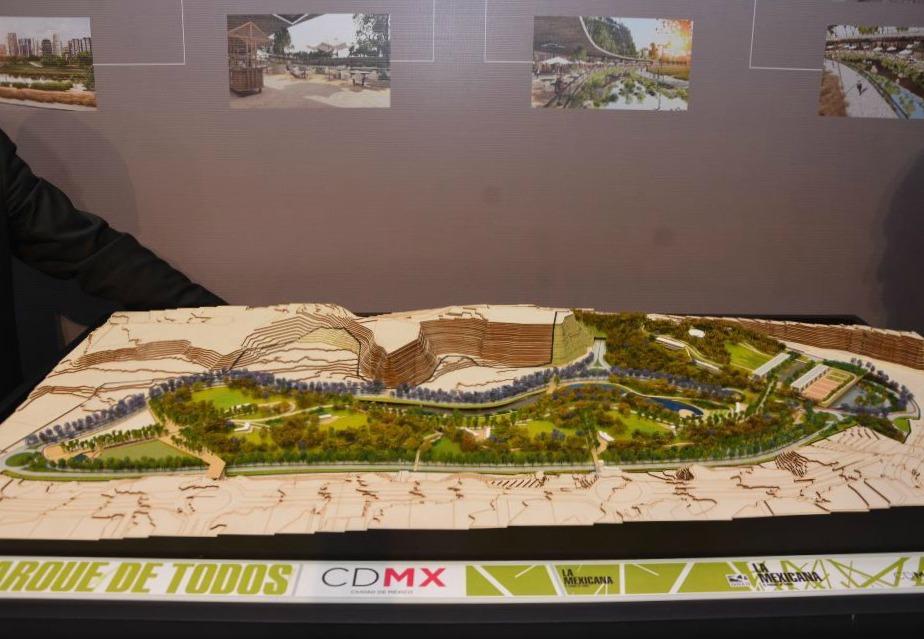Anuncian construcción del segundo parque más grande de la CDMX