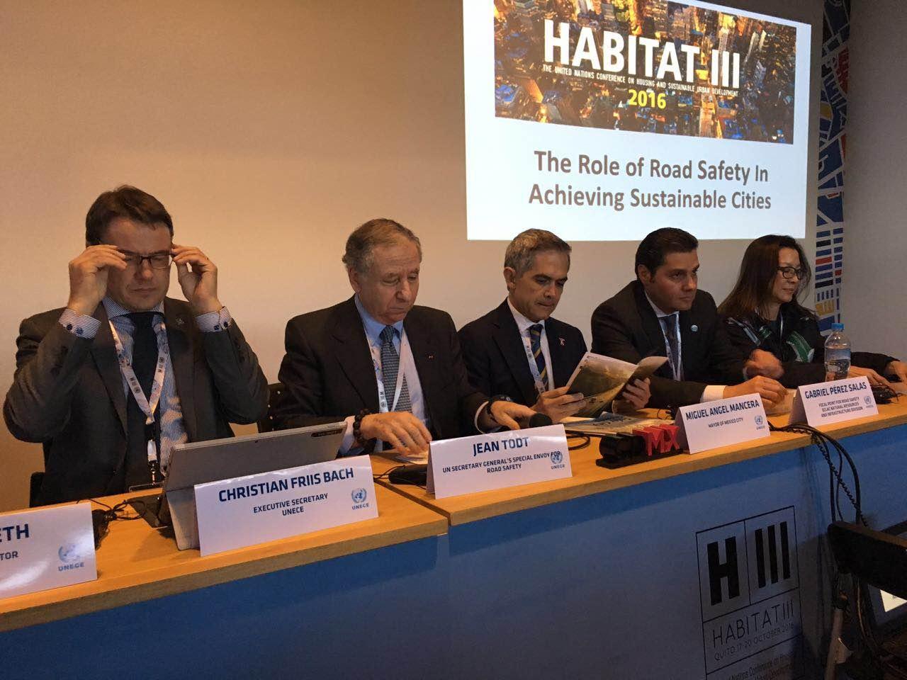 ONU y FIA reconocen avances en movilidad de la CDMX