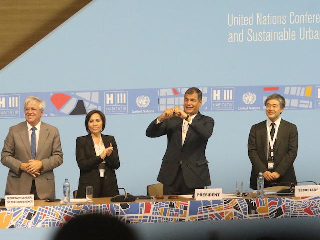 Aprueban Nueva Agenda Urbana, el futuro de las ciudades