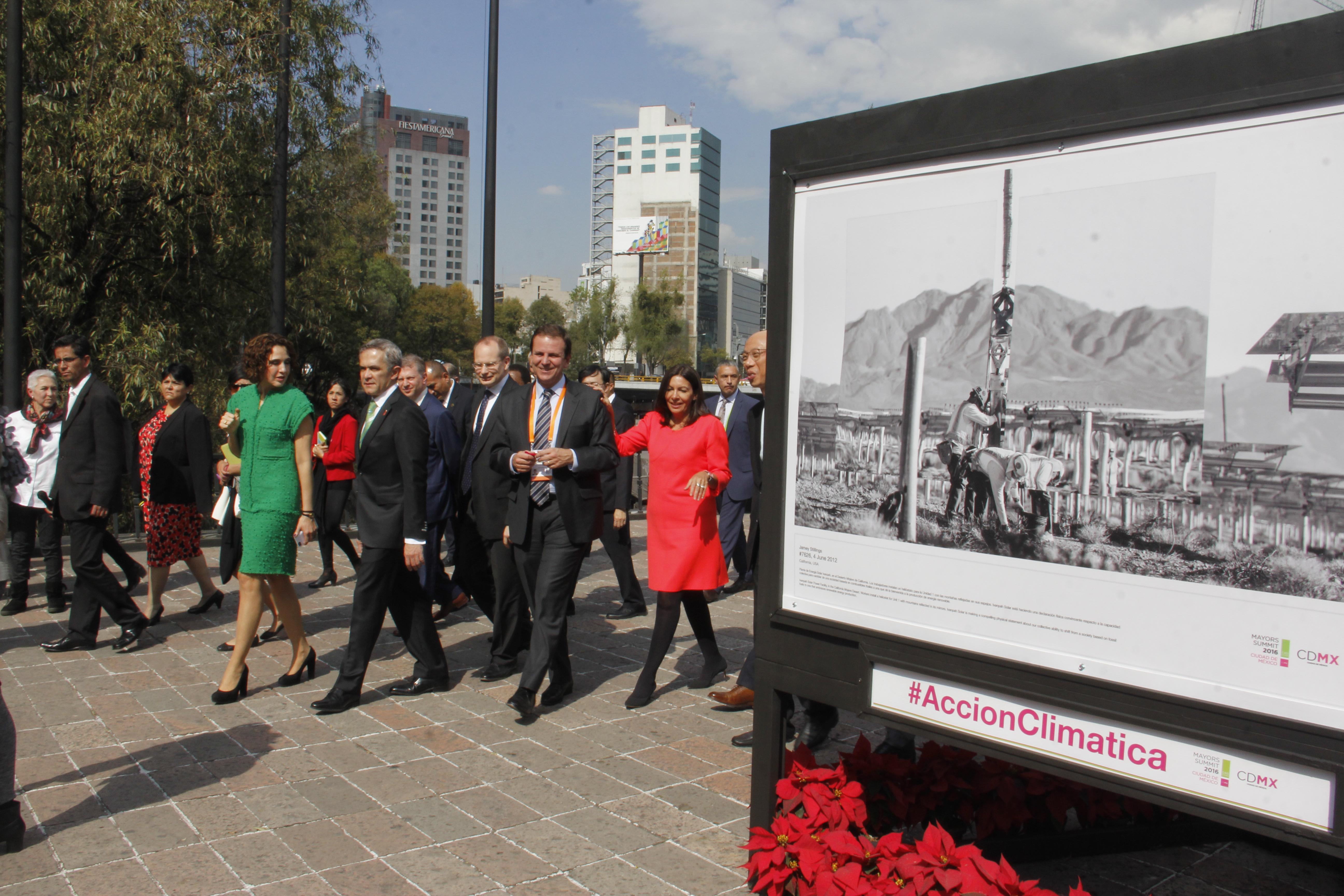 Efectos del cambio climático se exponen en Chapultepec