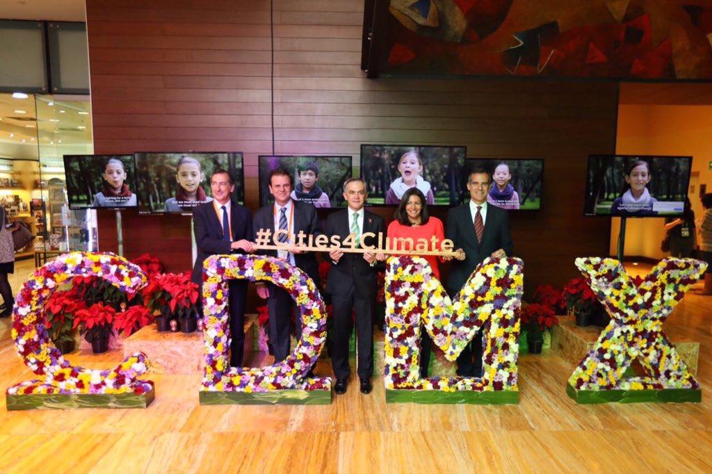 Inicia C40, la cumbre que busca un futuro sustentable