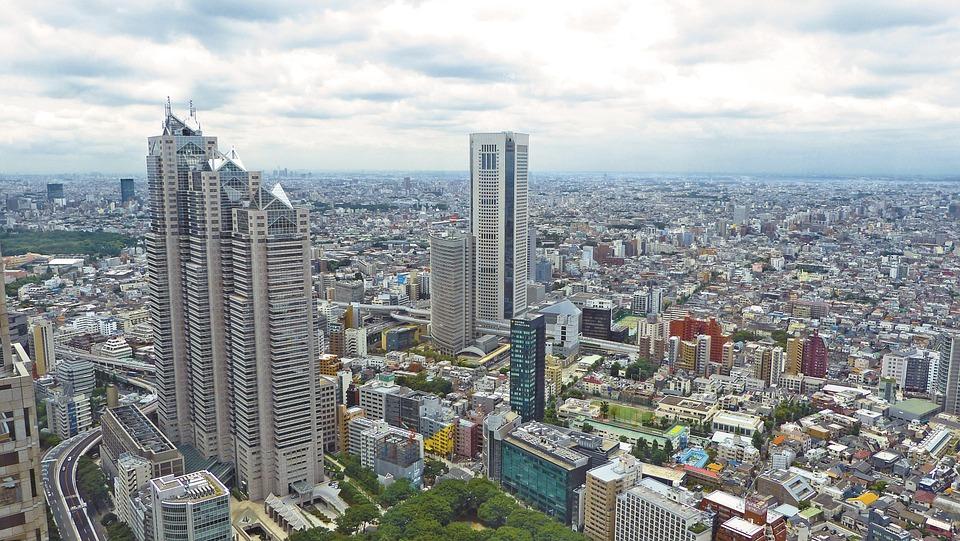 Las áreas urbanas más densas en el 2016