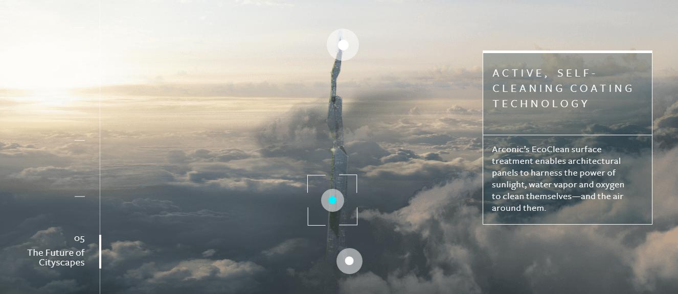 Una estructura futurista que absorberá el smog